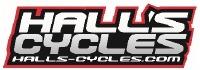 Hall's Cycles Logo
