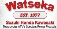 Watseka Suzuki Honda Kawasaki Logo