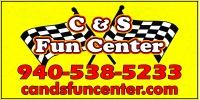 C & S Fun Center Logo