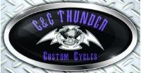 C & C Thunder Custom Cycles Logo