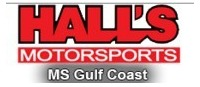 Hall's Motorsports - MS Gulf Coast Logo