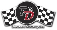 D&D Discount Motorcycles Logo
