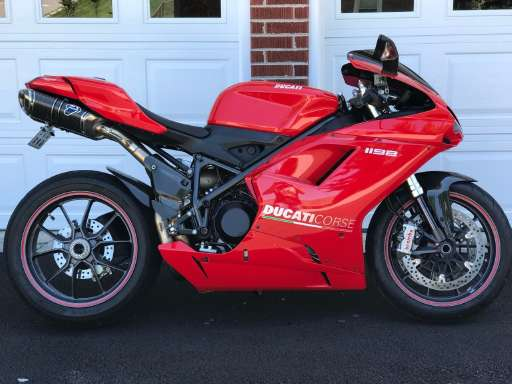 new or used ducati 1198 sportbike motorcycle for sale