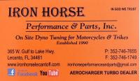 Iron Horse Performance & Parts, Inc Logo