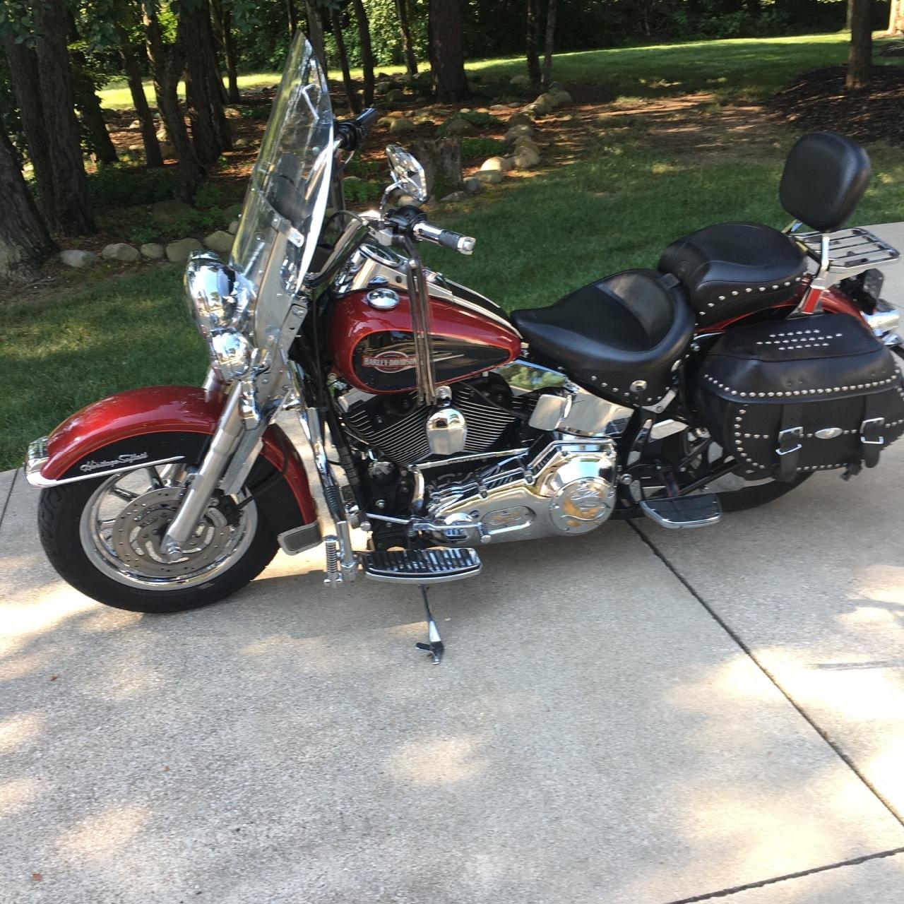 Ohio - Harley--Davidson SOFTAIL ROCKER C: 338 Motorcycles