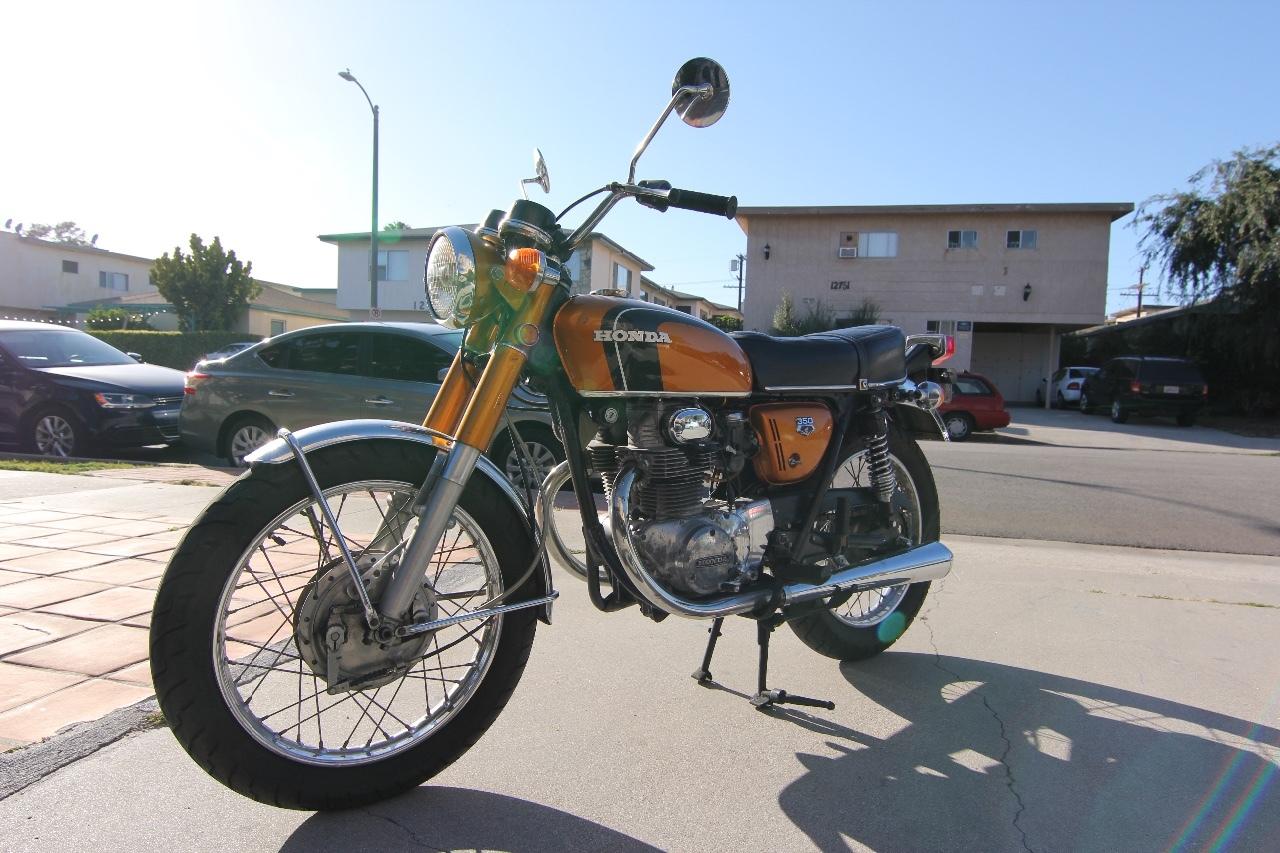 1971 Cb300f Black Honda Motorcycles 1970 Ct70 Paint Colors