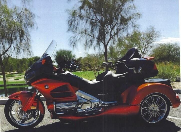 6 Honda 1800 ABS Trike Motorcycles For Sale