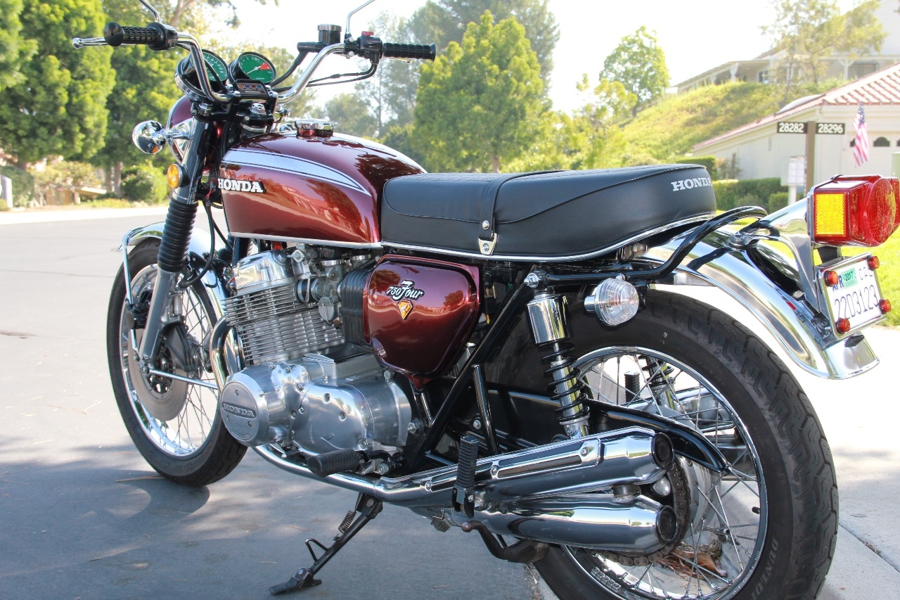 28 Honda Cb 750 Motorcycles For Sale 1970 Silver Wing