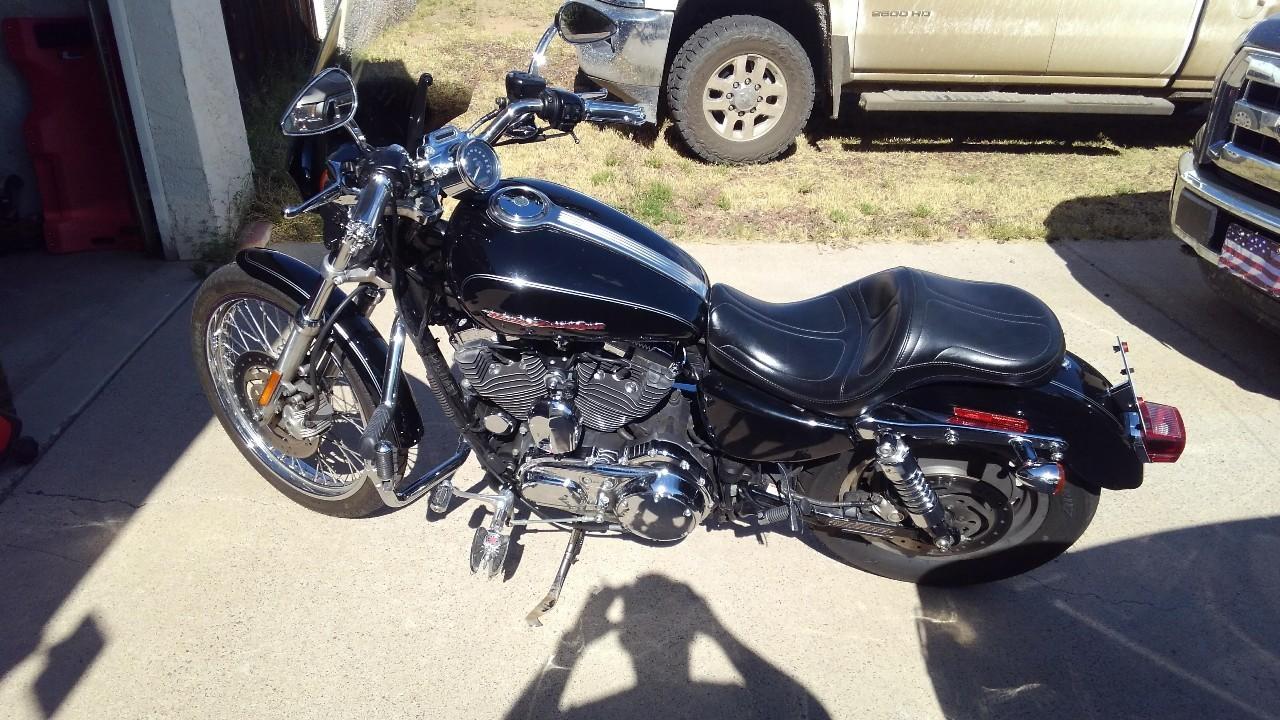 787 Harley Davidson Sportster 1200 Custom Cycle Trader Wiring Harness 98