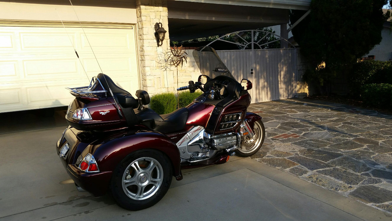 228 Honda Gold Wing Trike Motorcycles For Sale Cycle Trader 2000 Gl1500 Goldwing Wiring Diagram