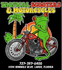 Tropical Scooters & Motorcycles Logo