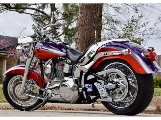 Picture Of 2006 Harley Davidson Cvo Fat Boy