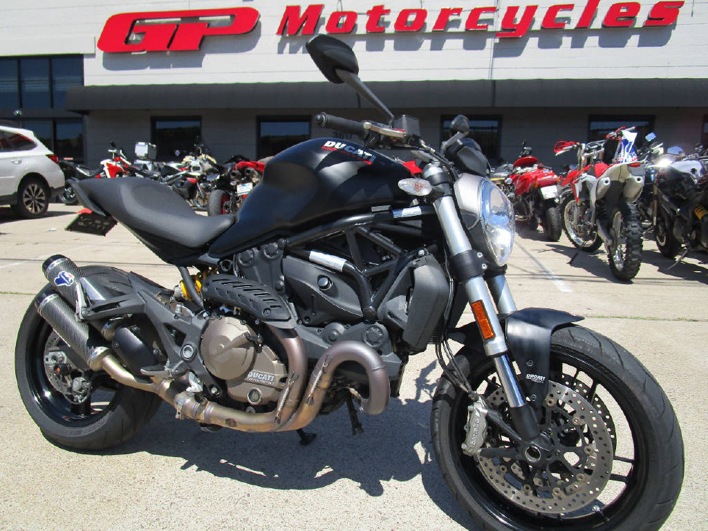 2016 Ducati Monster 821 Dark Stealth