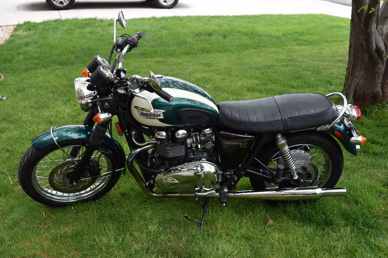 10 2009 Triumph Bonneville Motorcycles For Sale Cycle Trader