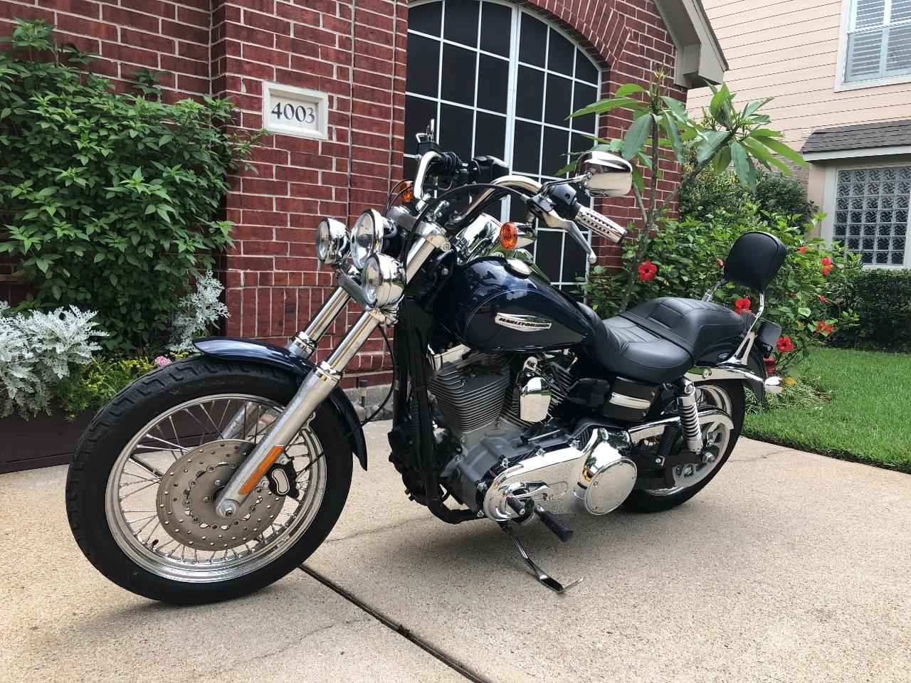 Promise Faster Backrest Sissy Bar Pad for Harley Davidson Dyna Street Bob Super Glide Low Rider FXDB FXDC FXD FXDL 2006 up