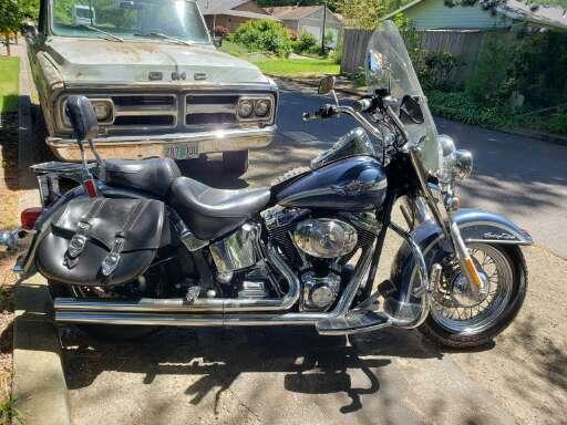 Harley Davidson Portland >> Portland Or Heritage Softail For Sale Harley Davidson