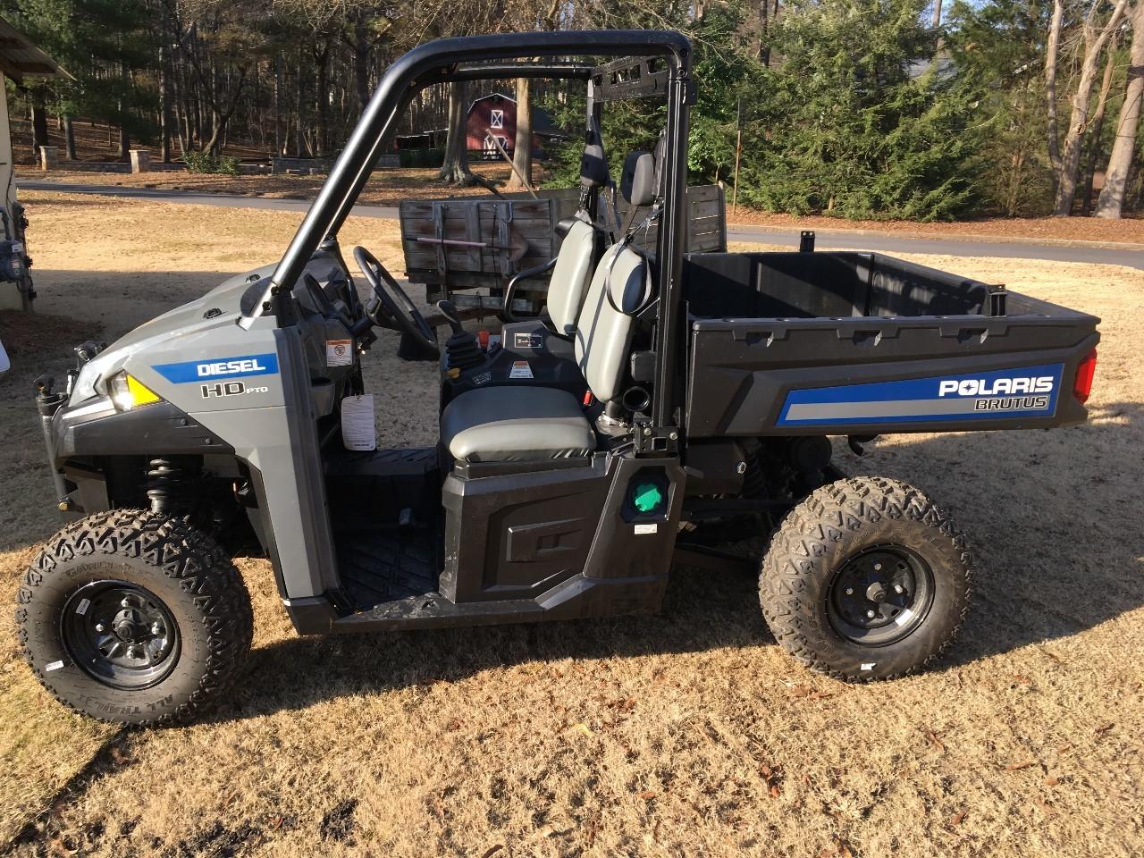 Brutus Hd Pto For Sale - Polaris Four Wheeler ATVs - ATV Trader