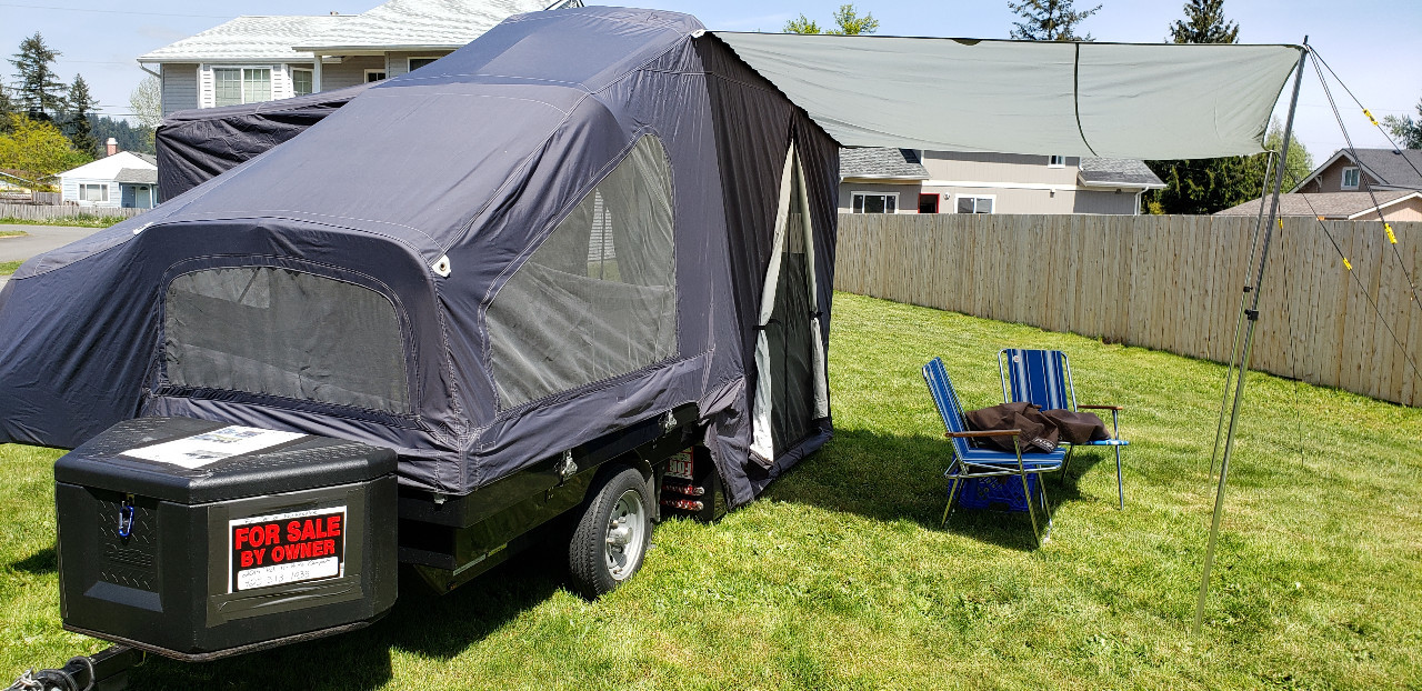 Camper For Sale Mini Mate Motorcycle Pull Behind Cycle Trader