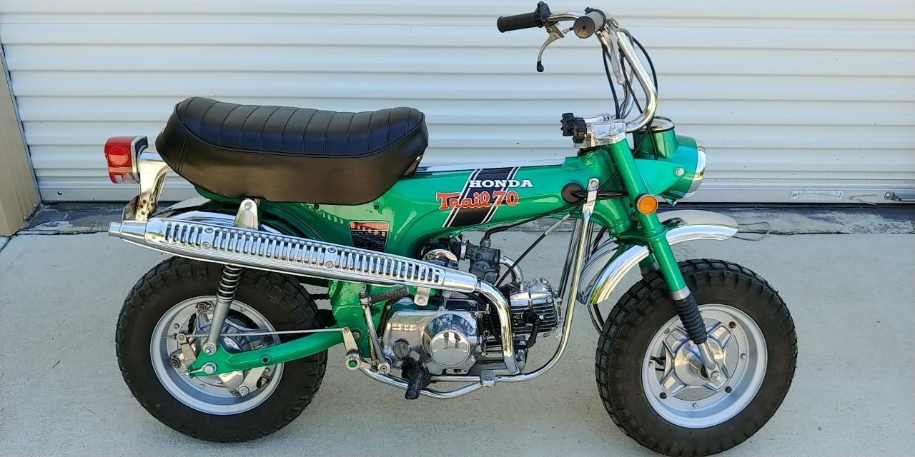 Honda ct70 handle bars reproductions like orig Ct70 1970 many others