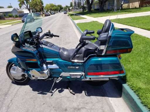 1996 honda gold wing 1500 se in long beach, ca