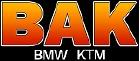 Bak BMW Victory KTM Logo