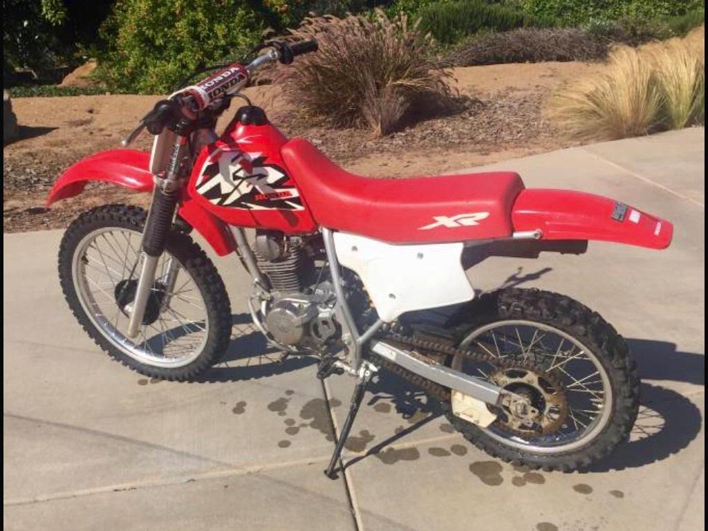2001 Honda XR 200R