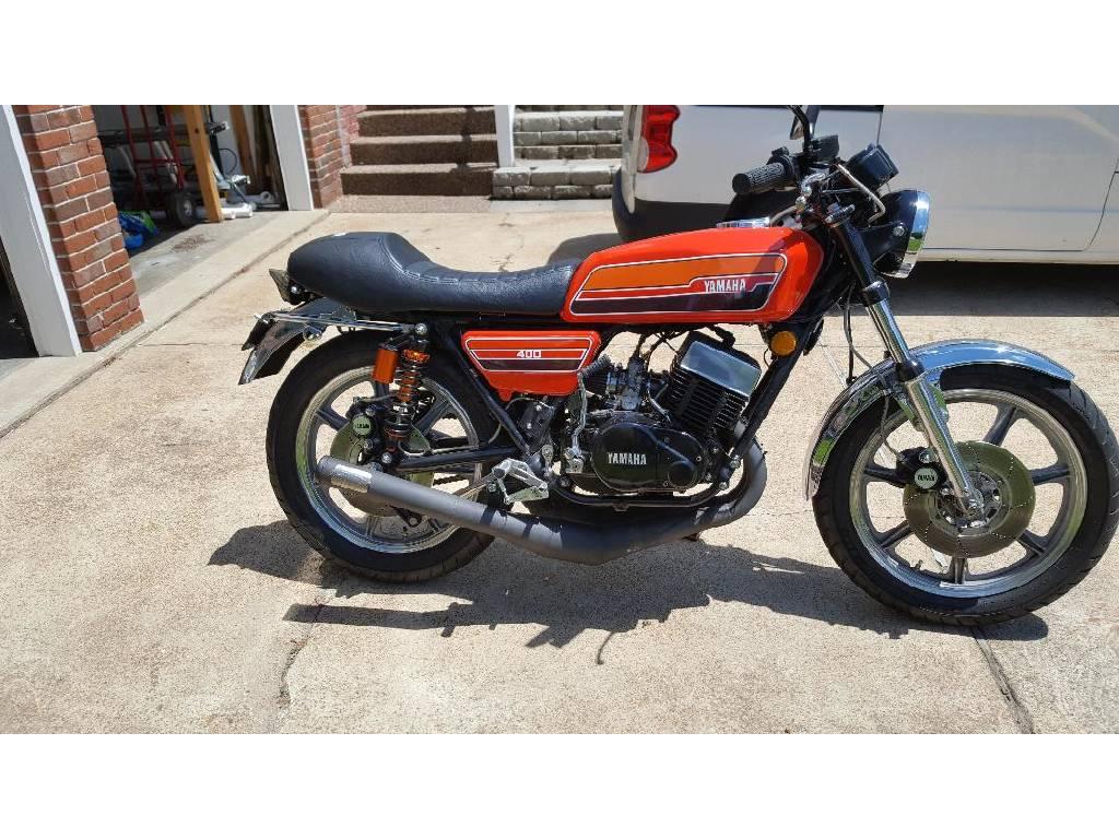 1976 Yamaha RD400, st louis MO - - Cycletrader com