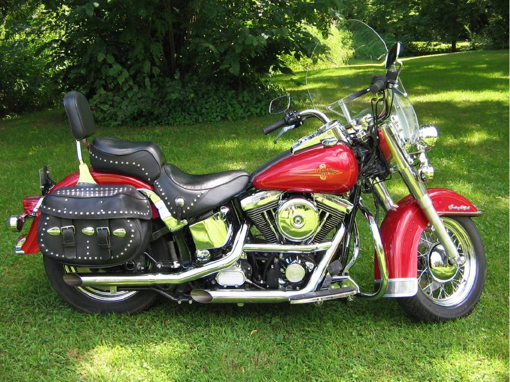 1995 Harley-Davidson HERITAGE SOFTAIL CLASSIC, Kimmell IN - -  Cycletrader com