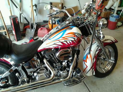 1993 Softail Custom For Sale - California+sidecar