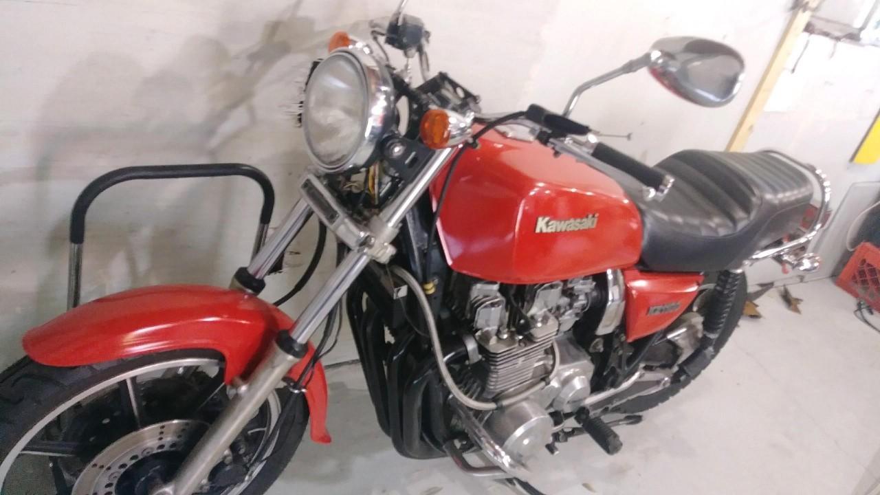 1981 Kawasaki KZ 1100