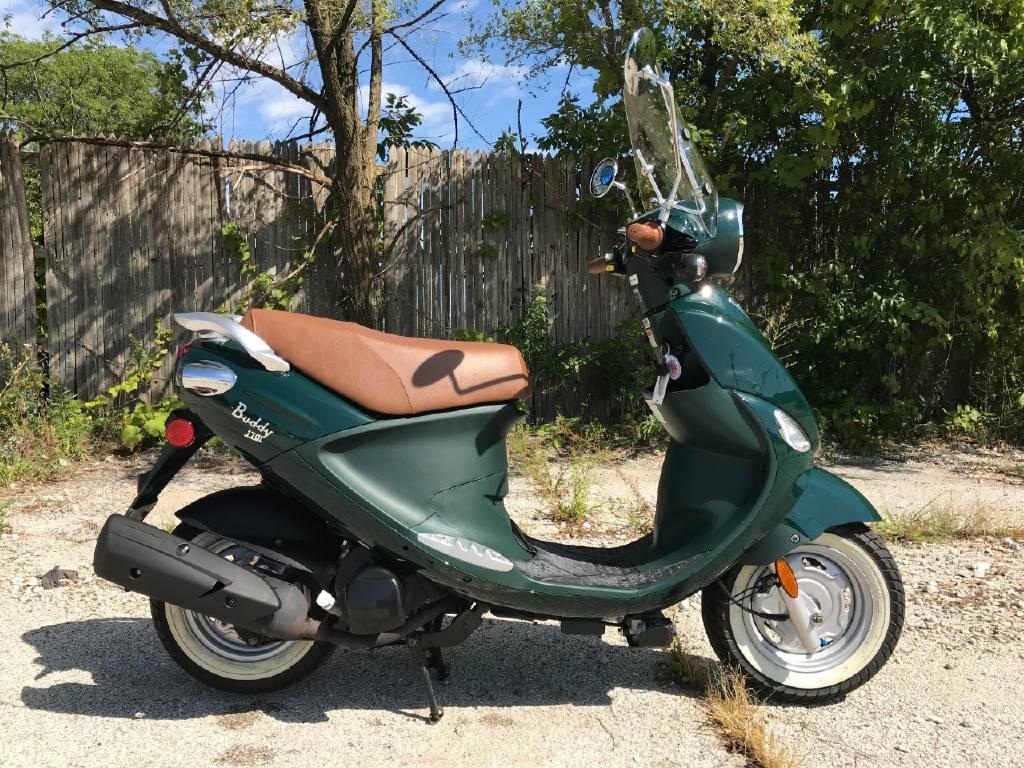 2015 Genuine Scooter Company BUDDY 170I, Lake Bluff IL - - Cycletrader com