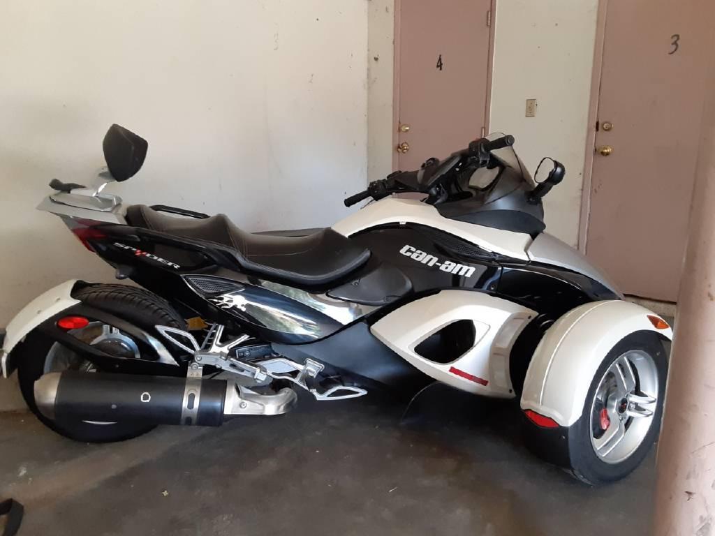 Can Am Roadster >> 2008 Can Am Spyder Roadster Sm5 Sacramento Ca Cycletrader Com