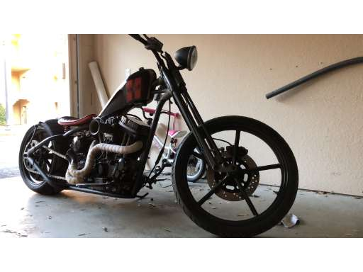 Custom Hardtail For Sale - Harley-Davidson Motorcycles