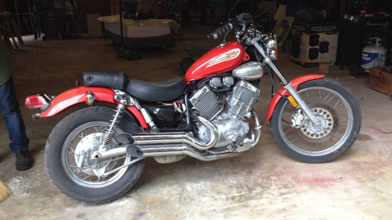 1996 Yamaha VIRAGO XV535SH-C