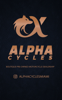 ALPHA CYCLES Logo