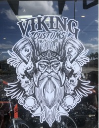 Viking Customs Logo