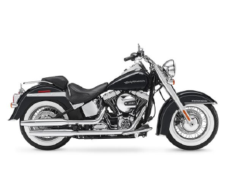 new or used harley-davidson softail deluxe motorcycle for sale in