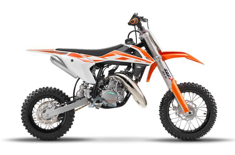 50 SX, Mini, Pro, Junior, Senior, KTM Motorcycle
