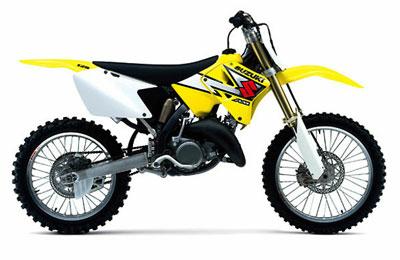 RM125, Suzuki MX Motorcycle